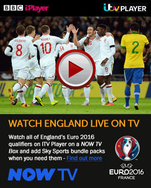 Watch England live