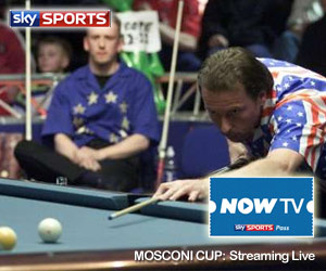 Watch Mosconi Cup live