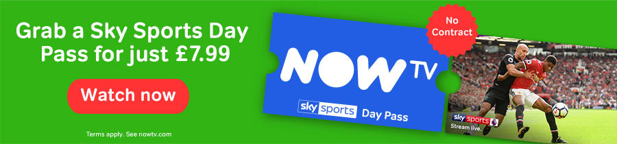 Watch Live Sport with a Sky Sports Day Pass