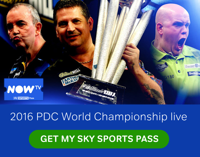 Watch live Darts on Sky