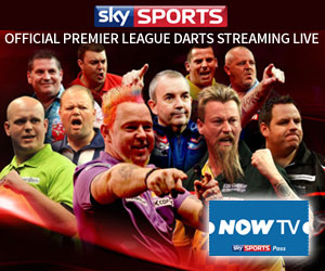 Watch Premier League Darts on Sky