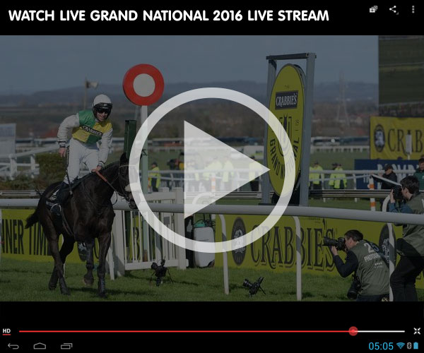 Grand National 2016 Live Streaming